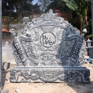 mẫu cuốn thư khu lăng mộ
