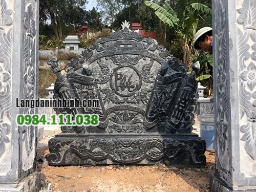 Bình phong khu lăng mộ