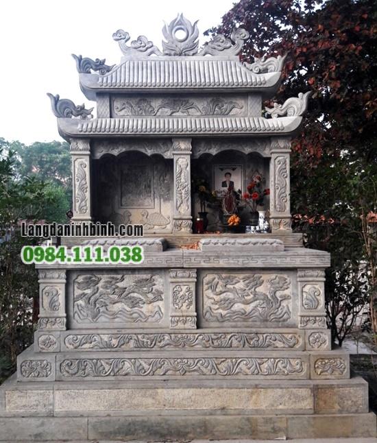 Lăng mộ hai mái ngói ống