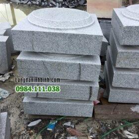 Đá kê cột bằng đá granit