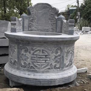 mộ tròn đá