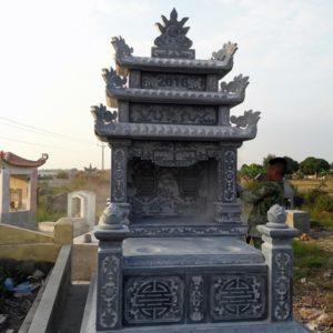 Lăng mộ đá đẹp ba mái