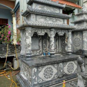 Lăng mộ đá đôi 3 mái