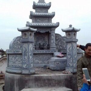 Mẫu mộ có mái che
