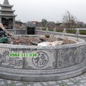 Mộ tròn khu lăng mộ