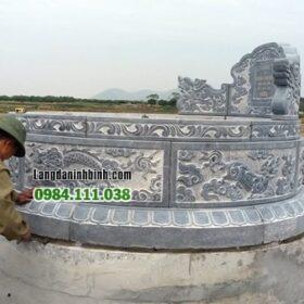 Mộ đá tròn kích thước lớn