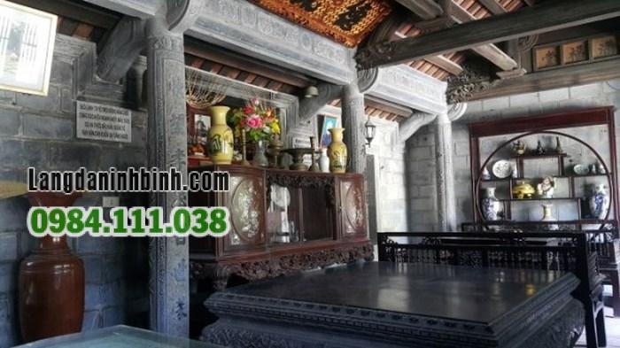 Ngôi nhà đá của ông Lương Văn Xiển được xây dựng từ năm 1934